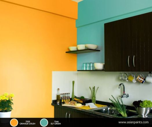 Asian Paints Interior Colour Combinations For Kitchen Home Painting