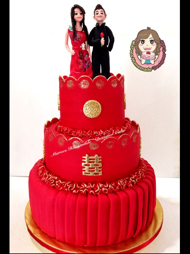 17 Best Images About Chinese Style Wedding Cake On