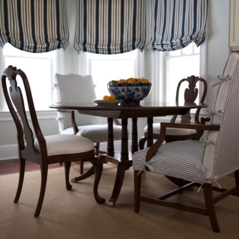 Martha Washington Chair Slipcover Ethan Allen  Dining