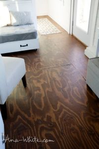 25+ best ideas about Stained plywood floors on Pinterest ...