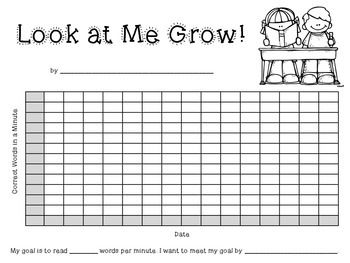 I use this product with my first graders to track their