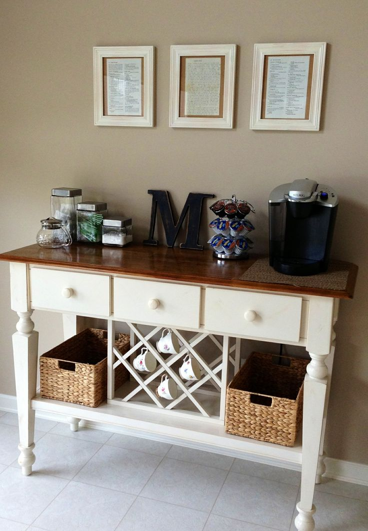 17 Best images about Kitchen Coffee Bar Ideas on Pinterest