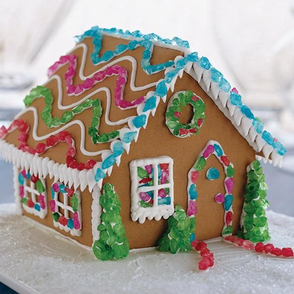 Gingerbread House Kit Build And Decorate House Interior