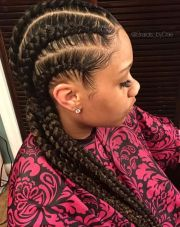 neat cornrows braids bydae