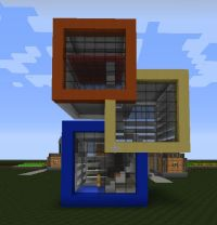 Cool MCPE House's I Might Make: a collection of Geek ideas ...