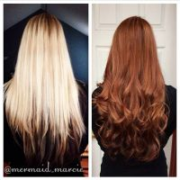 Before and After Goldwell colorance Demi permanent hair ...