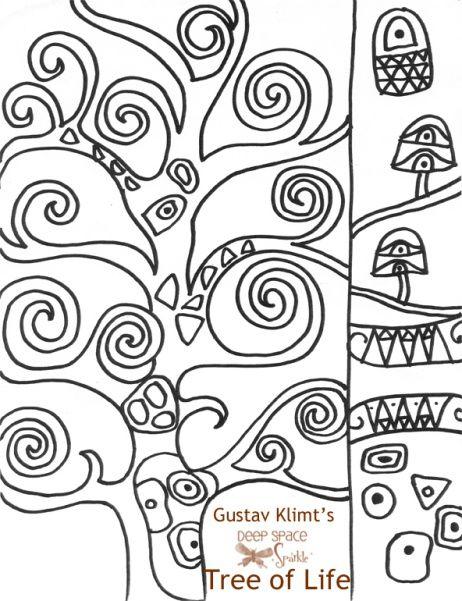 42 best images about Gustav Klimt: Art Projects for Kids