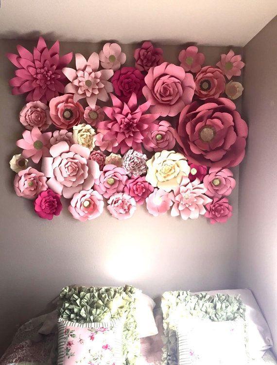 1000+ ideas about Paper Flower Backdrop on Pinterest
