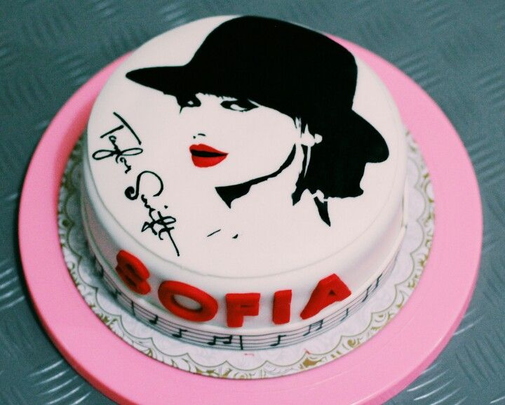 Taylor Swift Cake Sweets Pinterest Swift Cakes And