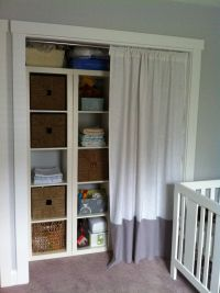 17 Best images about curtain over storage on Pinterest ...