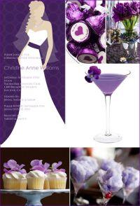 Purple Bridal Shower | www.imgkid.com - The Image Kid Has It!