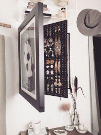 1000+ ideas about Frame Jewelry Organizer on Pinterest ...