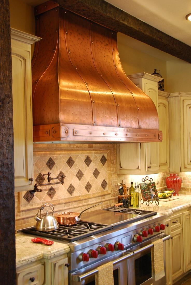 kitchen exhaust vent basics chicken stock camillia- copper hood #copper #kitchen #rangehood # ...