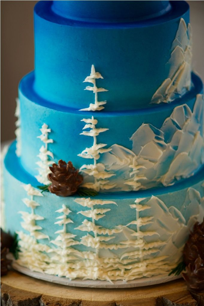 17 Best Ideas About Mountain Cake On Pinterest Forest