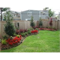 Best Landscaping along fence ideas on Pinterest