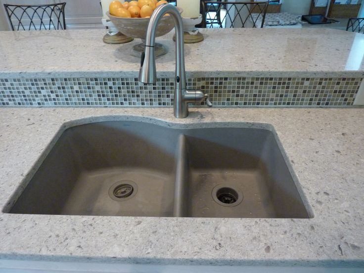 moen kitchen sink faucets table and chair set blanco silgranit ii truffle undermount sink, cambria ...