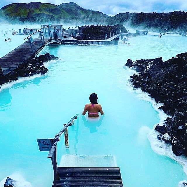Blue Lagoon Hot Springs – Iceland ✨✨ Picture by ✨✨@ThreeIfBySea✨✨