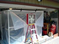 Great instruction to build a portable paint booth ...