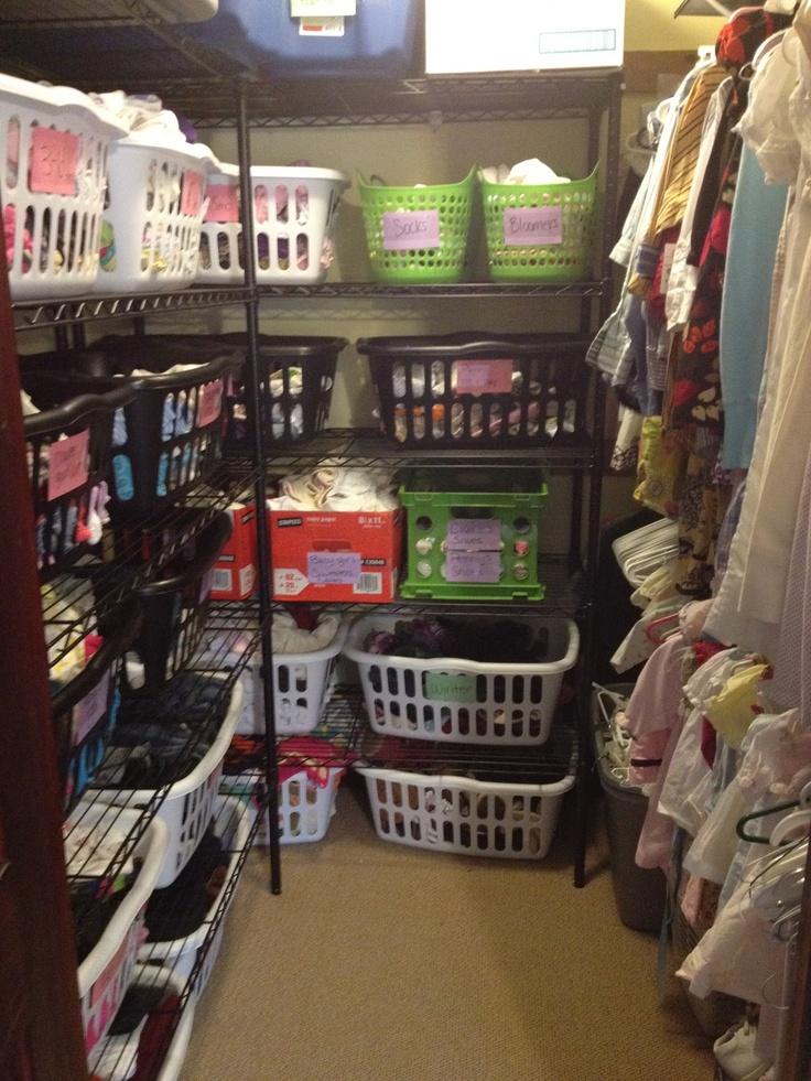 Laundry Roomfamily Closet Cheap Metal Shelving Laundry Baskets Plenty Of Storage For Kid
