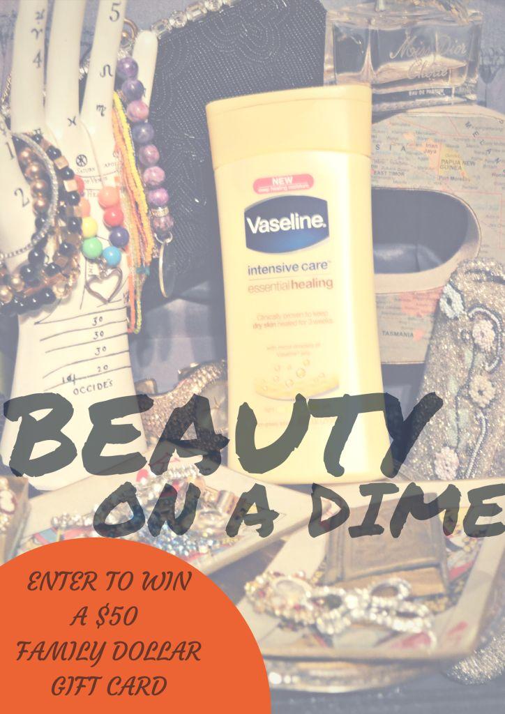Beauty on a dime vaseline intensive care lotion plus