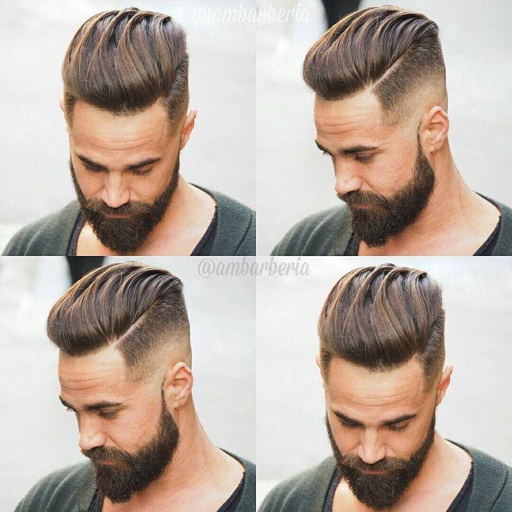 Die Besten 25 Pompadour Frisur Ideen Auf Pinterest
