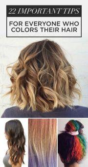 1000 ideas colored hair