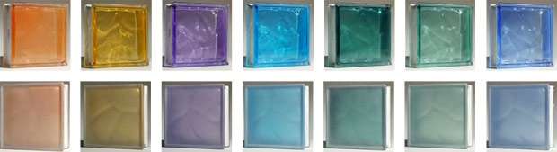 Colored Glass Block Frosted Glass Block Stained Glass