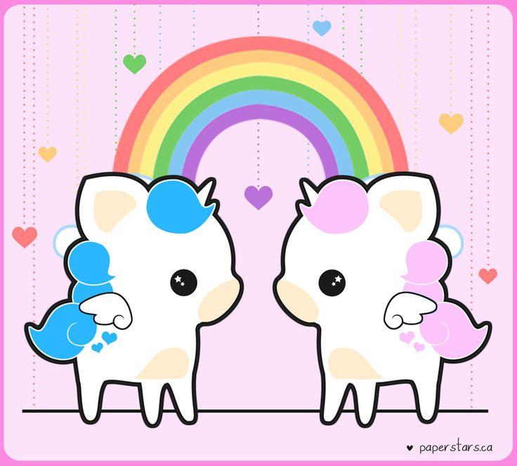 Unicorn Bff Wallpapers Half Cute