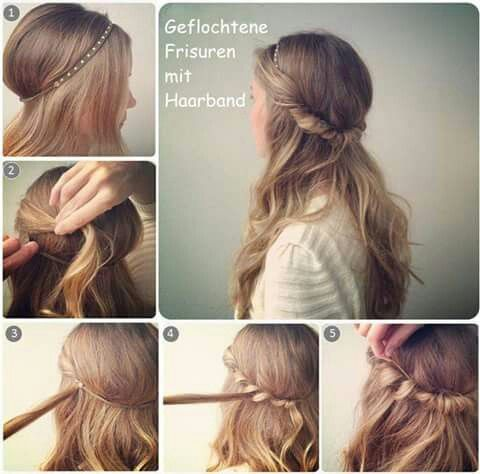 The 25 Best Frisuren Mit Haarband Ideas On Pinterest