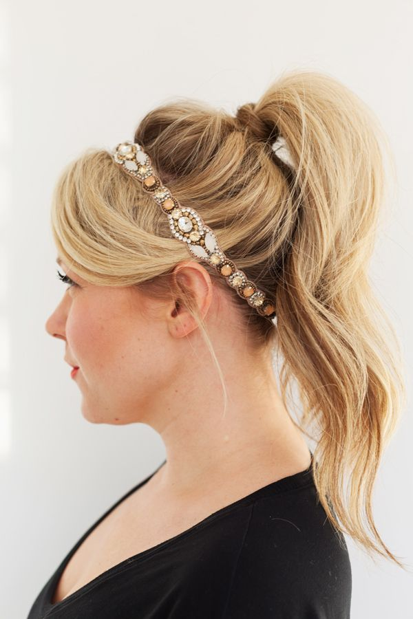 141 Best Images About Glitter Headbands On Pinterest Hair