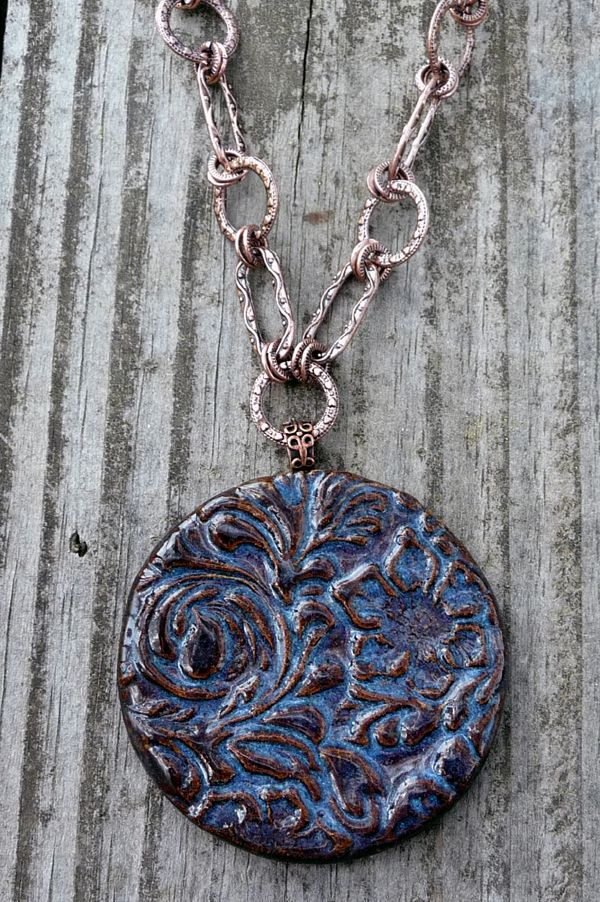 How to Make KilnFired Clay Pendants Home and Gifts