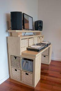 standing desk ikea hack // | Recording studio design ideas ...