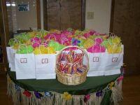Hawaiin / Hello Kitty / Luau Baby Shower Party Ideas