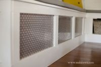 DIY Kitchen Banquette - How to Cover an Air Vent-1 ...