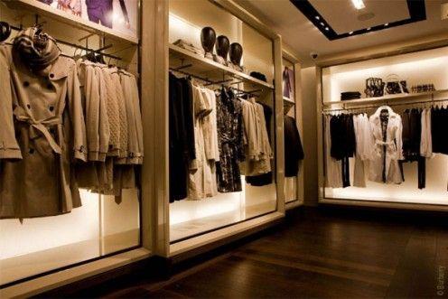 Idea Back Lighting Behind Items Shop Pinterest Boutique