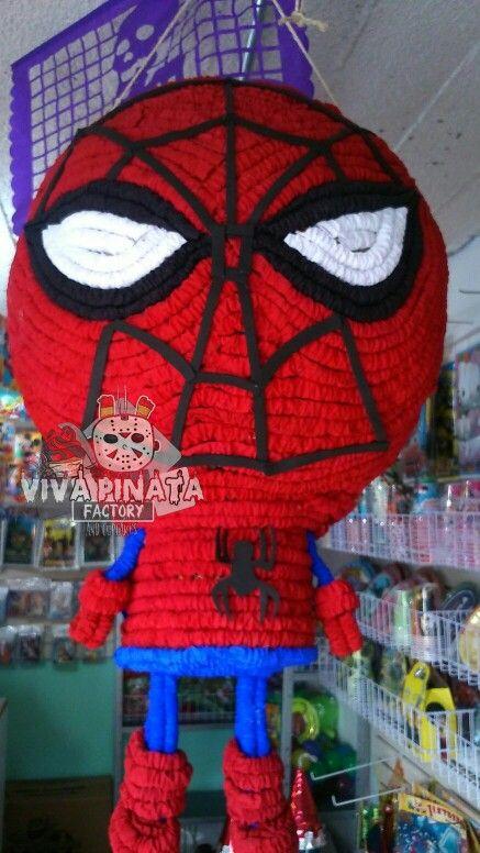 Nuevo modelo de piata Spider Man Recuerden cualquier