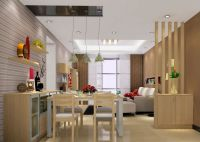 glass partition designs between living dining - Google ...