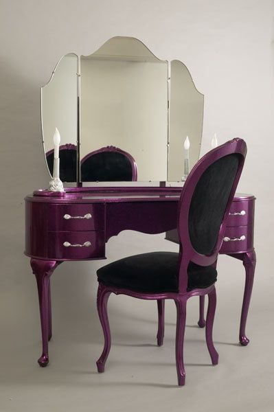 17 Best images about Purple Painted Furniture on Pinterest
