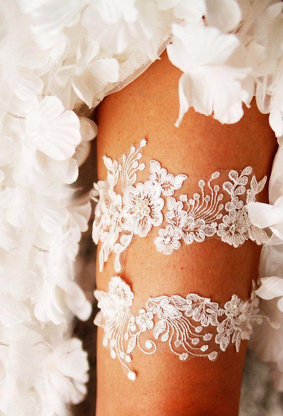 25 best Wedding Garters ideas on Pinterest  Bridal