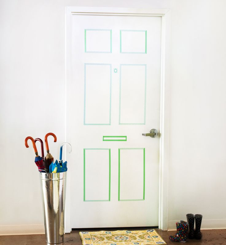 1000+ ideas about Washi Tape Door on Pinterest