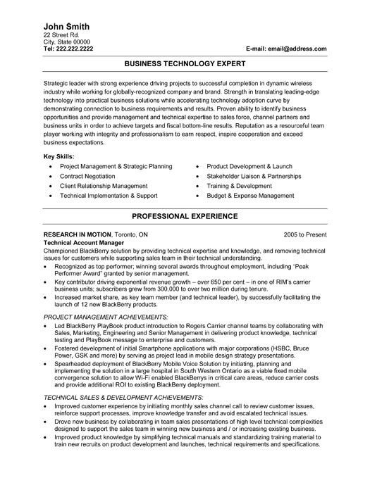 17 Best images about Information Technology IT Resume
