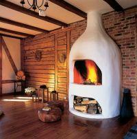 Cob fireplace | Fireplaces | Pinterest | Fireplaces