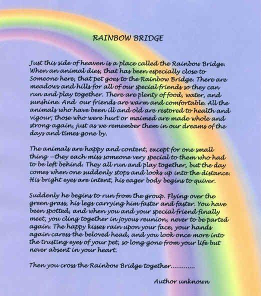 Original Bridge Pdf Rainbow Poem