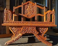 Details about THAI ELEPHANT CHAIR HANDCARVED BUDDHA Asian