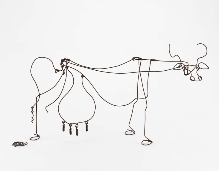 17 Best images about Wire Sculptures on Pinterest