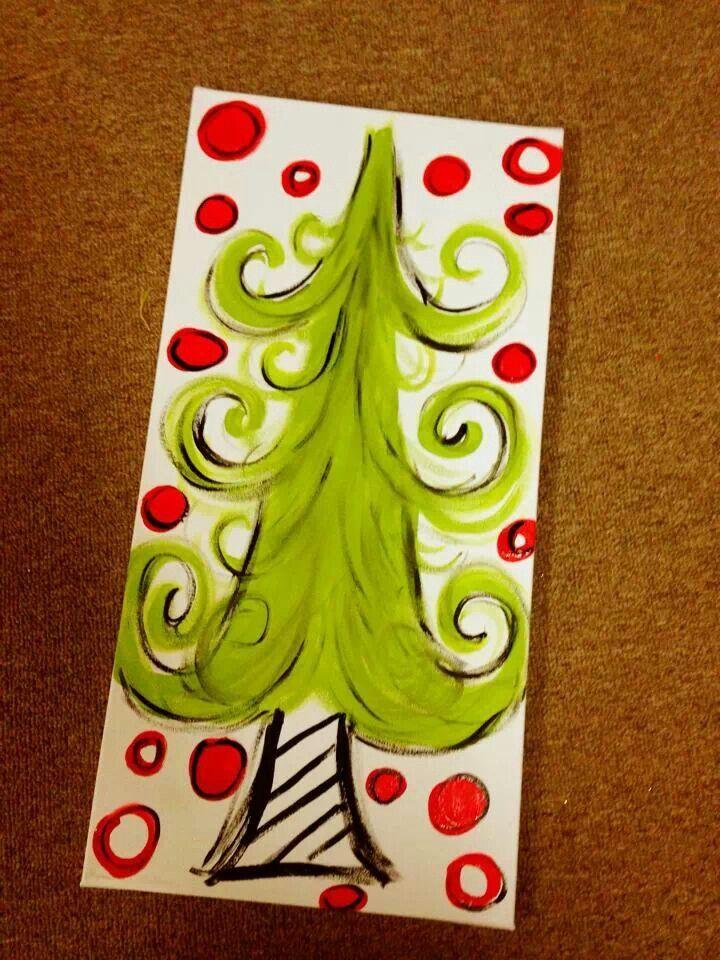 Children S Christmas Canvas Paintings Novocom Top