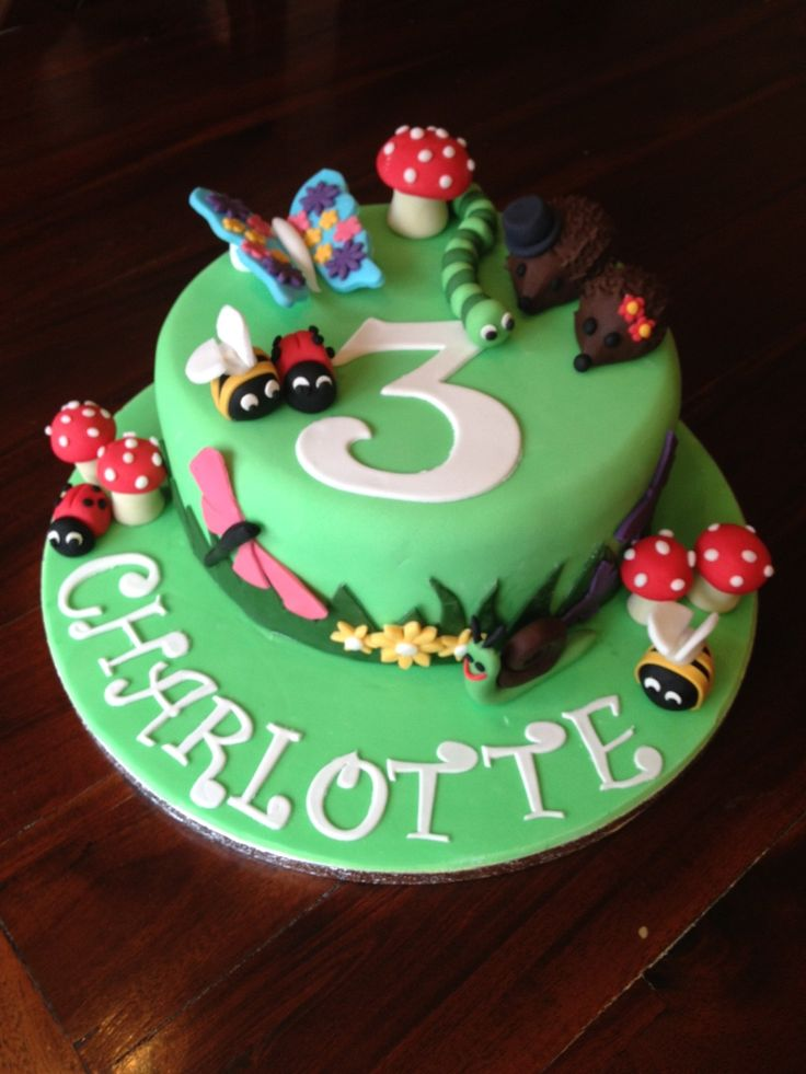 81 Best Images About Cakes Bugs Insects On Pinterest