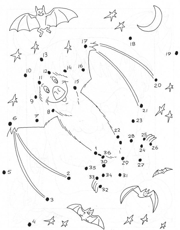 Laying Horse Dot To Dot Game Coloring Pages