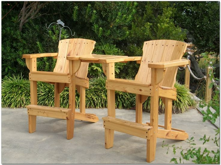 wooden adirondack chair antique cane rocking for sale high - maybe nick (handicap) | pinterest chairs, decks and ...