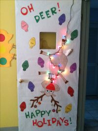 Christmas Door Decorations For Kindergarten Classroom - 1 ...